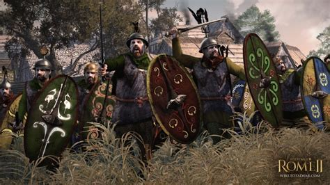 rome 2 total war barbarian arverni twr2 faction total war wiki