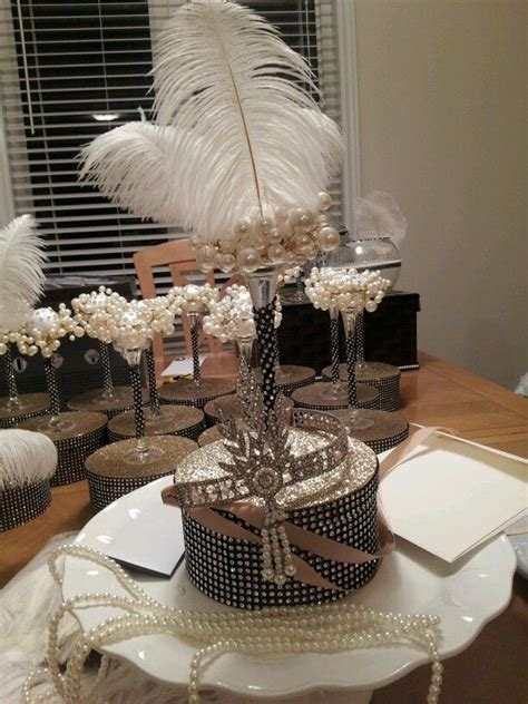 gatsby centerpieces 17 best images about 1920s on harlem nights birthday ideas and centerpieces
