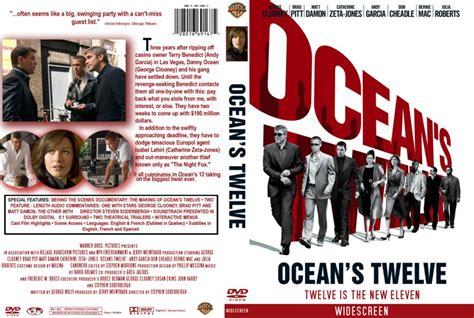 Ocean S Twelve ocean s twelve cstm movie dvd custom covers 10ocean s