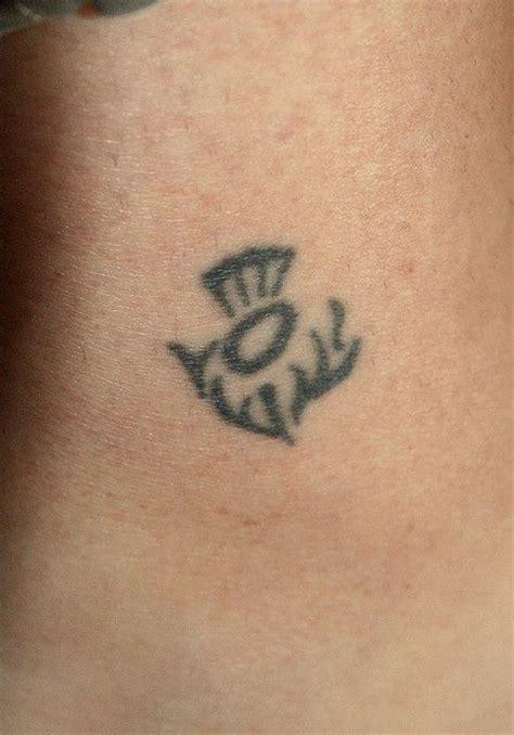 thistle tattoo flickr tattoos pinterest