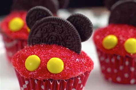 Sandwiches by Mickey Mouse Cupcakes Disney Family
