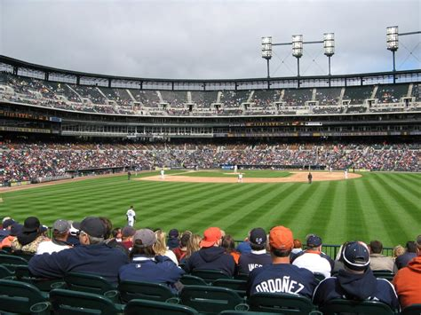 section 103 comerica park panoramio photo of comerica park section 104 row m seat 6