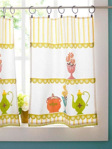 tea towel curtains tea towel kitchen curtains a stitch in time pinterest
