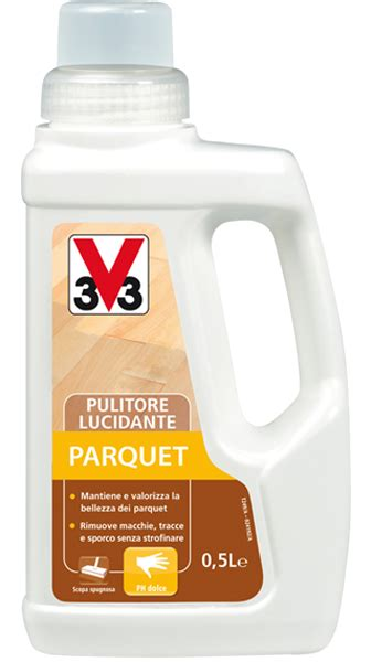 pulitore pavimenti pulitore lucidante parquet v33