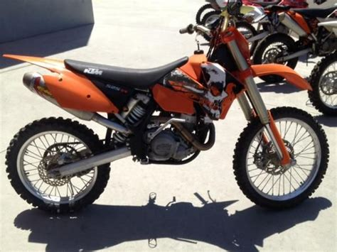 525 Ktm For Sale 2004 Ktm 525 Sx Racing For Sale On 2040 Motos