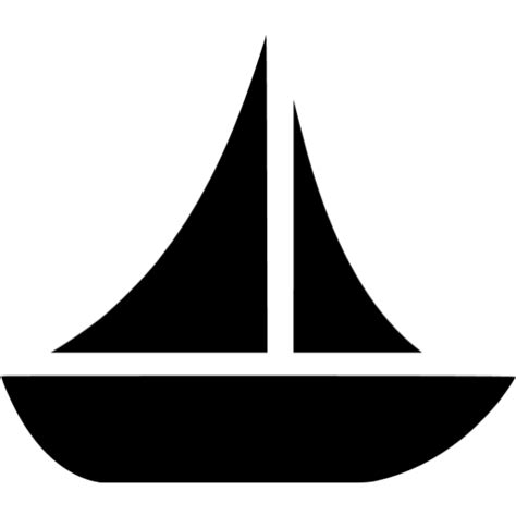 boat icon black and white black boat 10 icon free black boat icons