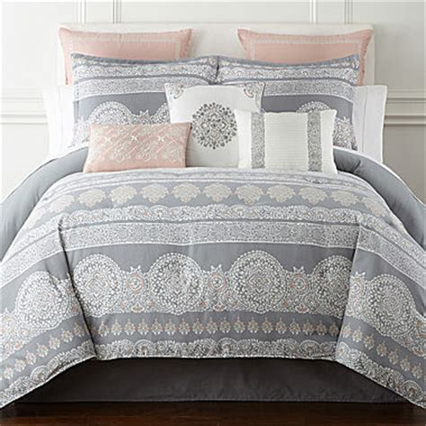 longoria home bethany 4 pc comforter set jcpenney