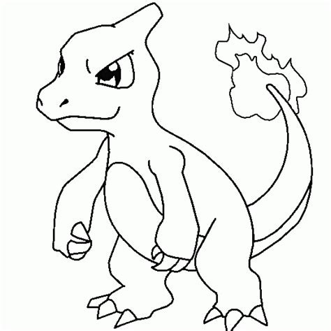 pokemon coloring charmeleon free pokemon coloring