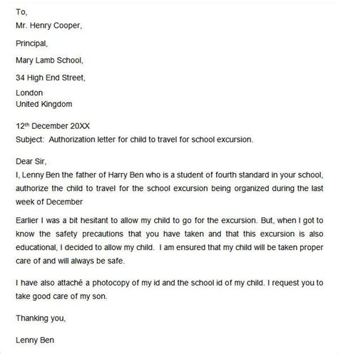 authorization letter for child traveling without parents the 25 best consent form children ideas on