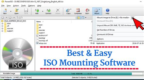 software pembuat file iso best iso mounting software how to mount iso easy