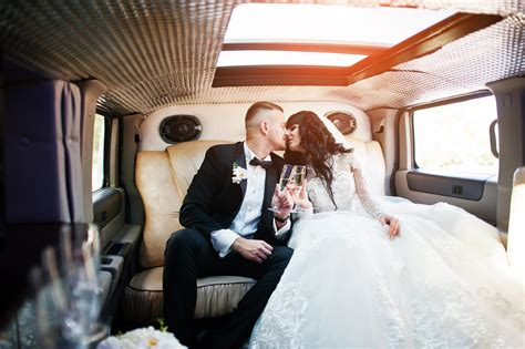 Wedding Limo Rental by Wedding Transportation Services Limos Buses