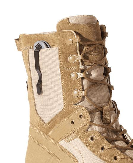 Tactical Shoes 511 6inc Ac 5 11 tactical recon desert boot with a spot for a folding