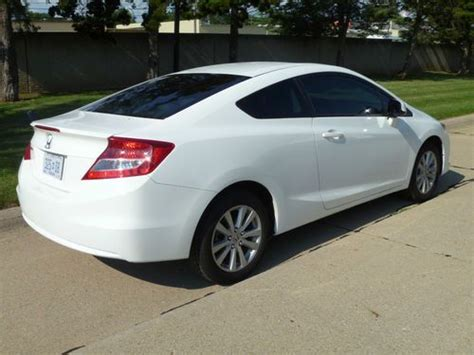 Honda Civic 2012 Two Door by Purchase Used 2012 Honda Civic Ex L Coupe 2 Door 1 8l In