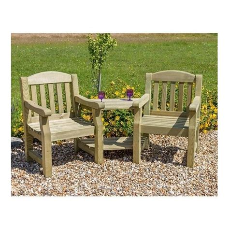 emily garden bench zest 4 leisue emily love seat fsc approved timber