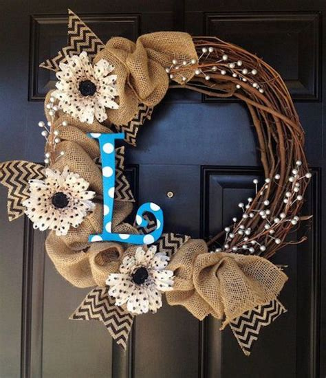 Wreath Decorating Ideas by About Us Different Shapes Front Doors And