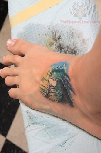 ocean beach tattoo images designs
