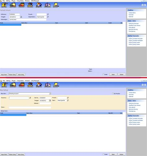 jurnal desain database perbedaan fasilitas jurnal umum dan kas bank pt zahir
