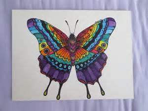 zentangle butterfly by luzilla on deviantart