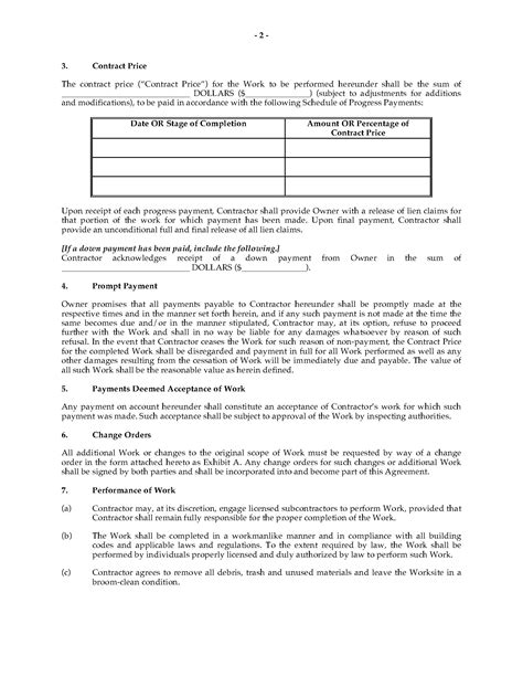Plumbing Contract Forms by Commercial Plumbing Installation Contract Forms