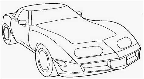 dunia sekolah gambar hitam putih drawing kenderaan