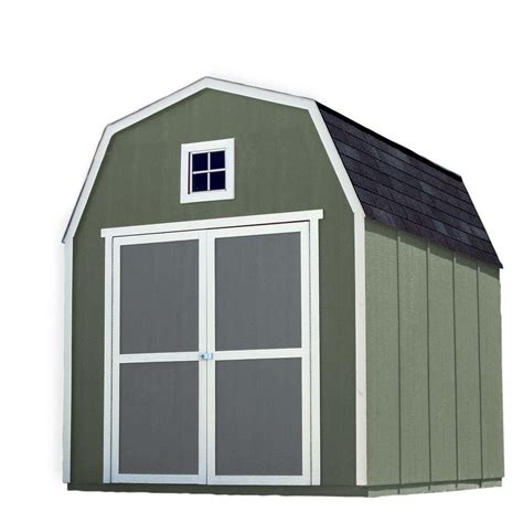 Wood Storage Sheds Installed by Handy Home Products Installed Montana 8 Ft X 10 Ft Wood