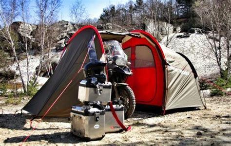 tenda moto une tente pour motard et moto la mototent