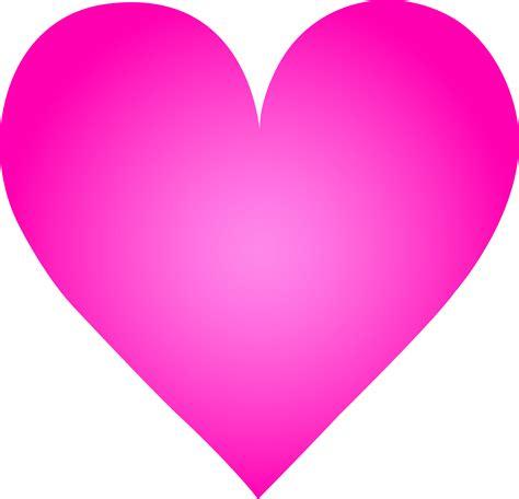 pink hearts big pink free clip