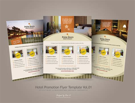 Hotel Promotion Flyer Promotions Pinterest Promotion Brochures And Design Layouts Hotel Flyer Template