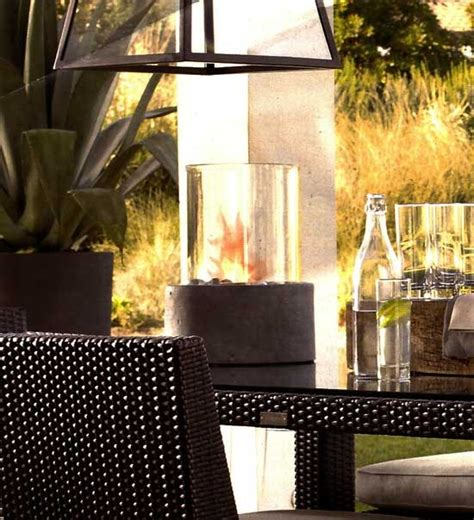 restoration hardware fire table how to make a restoration hardware concrete fire column