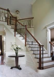 Small Bathroom Vanities With Sinks - dramatic entry way with staircase traditional staircase new york by creative design