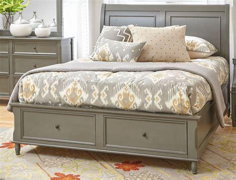 Avignon Grey Storage Bedroom Set 1618 85868788kt Jofran Avignon Bedroom Furniture