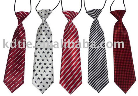 tie pattern types no profit promotional zipper children tie boy ties baby