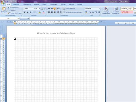 Vorlage Word Kariert Millimeterpapier Excelvorlage De