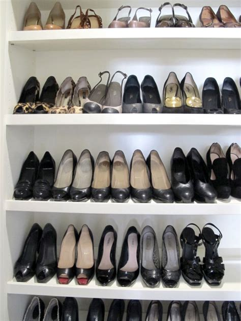 Built In Shoe Closet by Built In Shoe Racks For Closets Roselawnlutheran