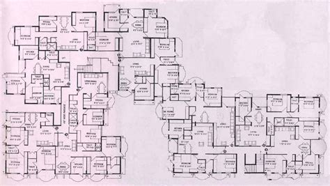 large estate house plans floor plans for mansions floor plan of apoorva mansion