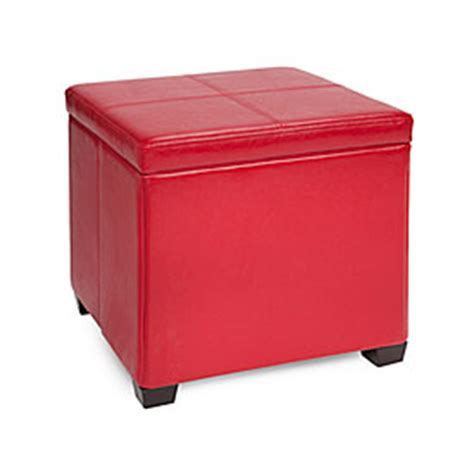 sit and store storage ottoman red ottoman