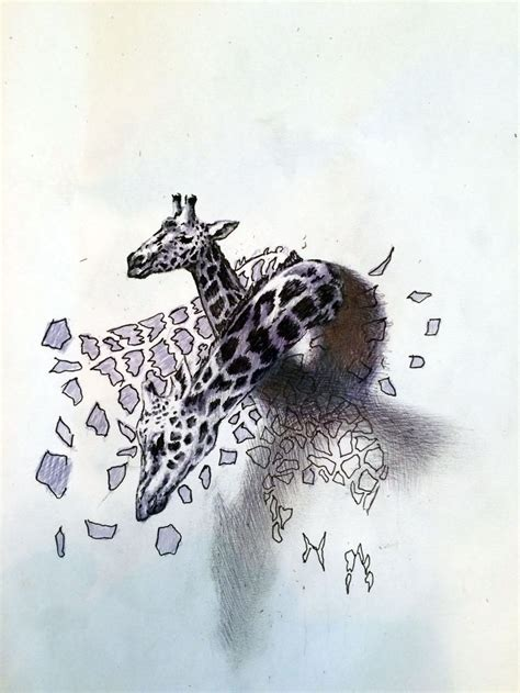 tattoo sketch paper giraffe 3d tattoo drawing tattoos drawn on paper
