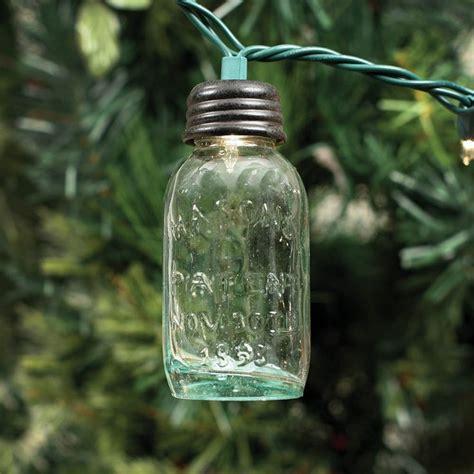 mason jar christmas lights large glass mason jar ornament for christmas lights jars
