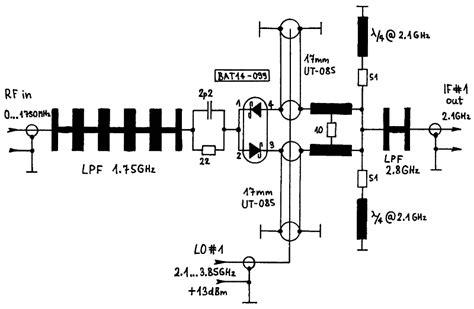 schottky diode mixer technology schottky diode mixer technology 28 images 6x 2a116a uhf mixer schottky diode 0 3 3 ghz three