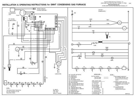 janitrol gas furnace parts diagram free wiring