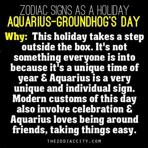 groundhog day zodiac zodiac signs as a aquarius groundhog s day
