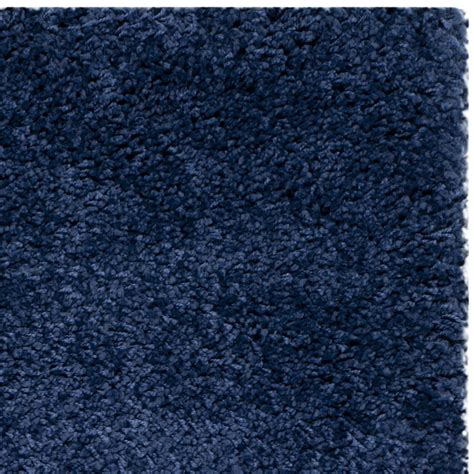 milan rugs safavieh milan shag navy blue area rug reviews wayfair