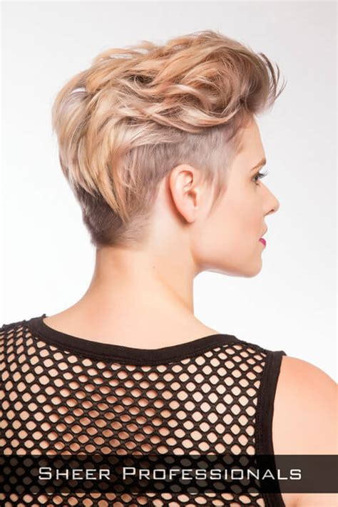 short hair volume on top longer in frint 39 short hairstyles for round faces you can rock