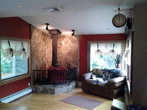 home design story rustic stove 1000 images about basement wood stove on pinterest
