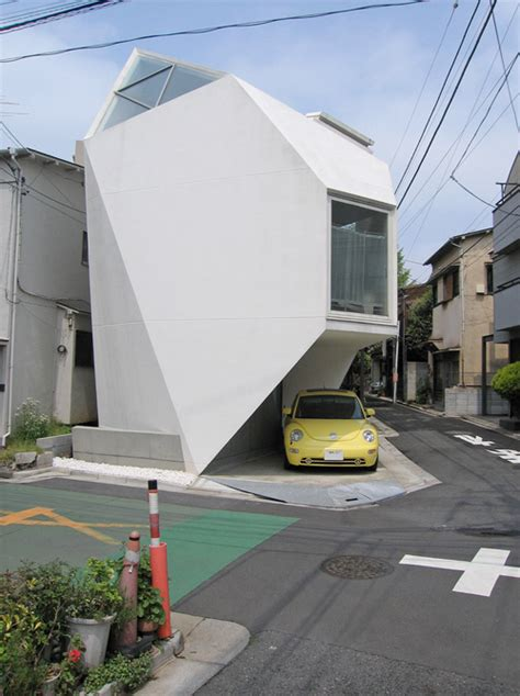Tokyo House by Polyhedron Tokyo House Measures 44sqm And Looks Like A