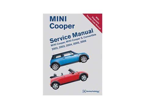 service manual free repair manual 2011 mini cooper countryman ecs news mini cooper cooper s mini cooper service manual from bentley 2002 2006