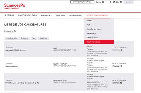 Exemple De Lettre De Motivation Sciences Po Modele Cv Sciences Po