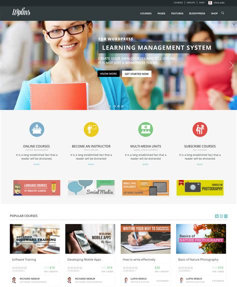 themeforest wplms wplms learning management system by vibethemes themeforest
