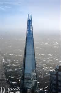 London's Energy Efficient Shard—a 95 Story Pyramidal Tower That