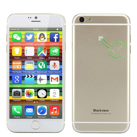 iphone   alike running android    touch blackview ultra  phones nigeria